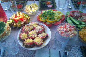 venäläisen keittiön herkkuja