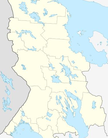 Belomorska kartalla