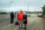 Suomi-Venäjä-Seuran Kemin osasto tekee tiivistä yhteistyötä Kuolan niemimaalla, kuvassa Arto ja Jevgenia