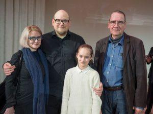 Jevgenia ja Arto Sami Junnosen konserttikiertueella. Vuosi 2017. Kuvaaja Ari Vuorela.