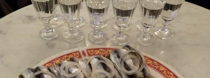 Vodkamuseon maistiaisia