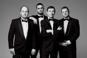 Pietarilainen Konevitsan kvartetti käy vuosittain konserttikiertueella Suomessa.