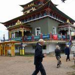 Ivolgijski datsa, det största bhuddhiska centret i Ryssland.