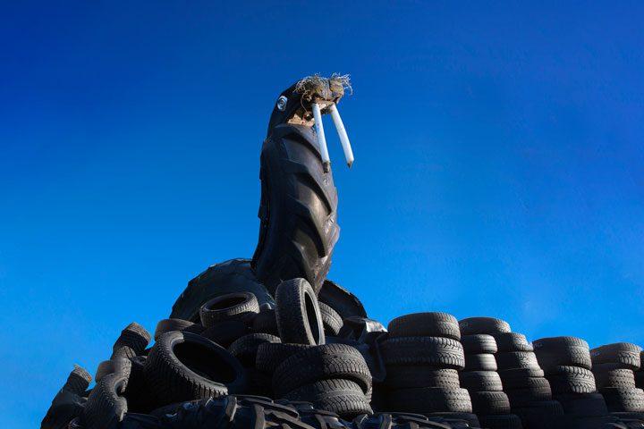 Kuva Alpon Savannilta, kuvan on ottanut Mirja Koivisto