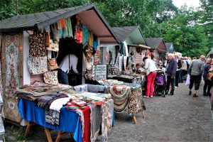 Pietarilaiset markkinat järjestetään vuosittain elokuussa Tampereella.