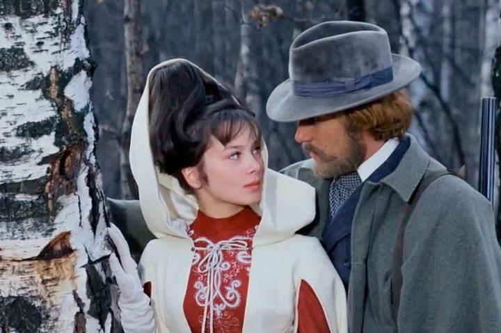 Venäläisestä klassikkoelokuvasta Olet rakkaani, olet petoni. 1978, Mosfilm.